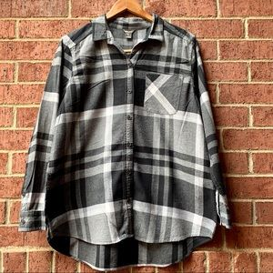 Eddie Bauer Women's Cotton Plaid Button Down